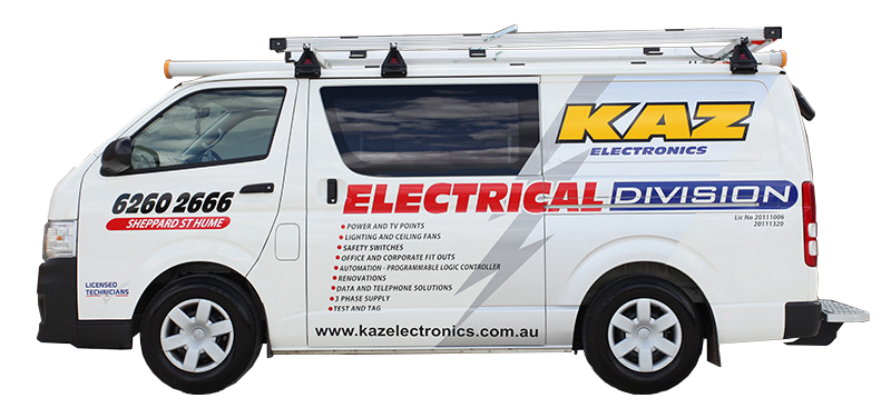02 van electrical